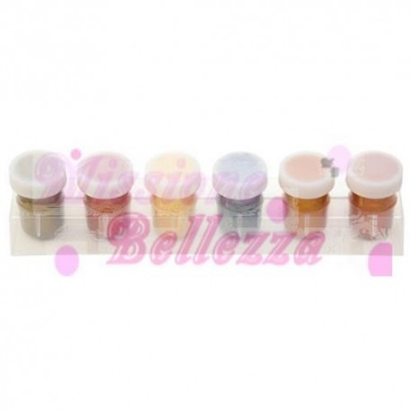 GOLDEN NAILS ACQUERELLI SET 6 COLORI METALLICI