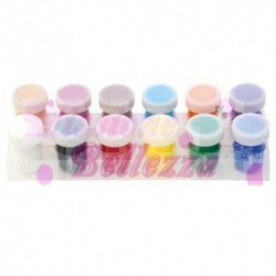 GOLDEN NAILS ACQUERELLI SET 12 COLORI PRIMARI OPAC
