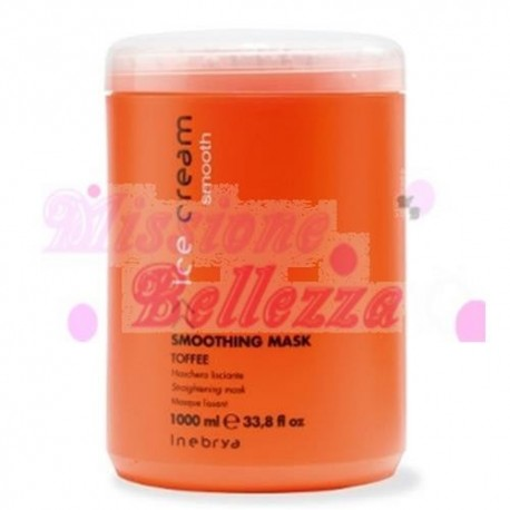 SMOOTHING MASK LISCIANTE TOFFEE 1000 ML INEBRYA
