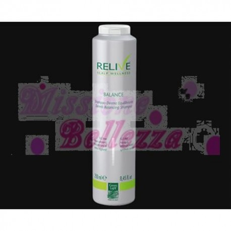 RELIVE BALANCE SHAMPOO DERMO EQUILIBRANTE 250 ML GREEN LIGHT