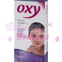 OXY STRISCE DEPILATORIE VISO 20 PZ + 4 SALVIETTINE