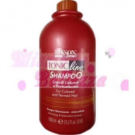 Dikson Tonic Line Shampoo Per Capelli Colorati E Permanentati 1000 Ml