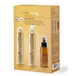KIT ANTI-FRIZZ SHAMPOO 300 ML + MASCHERA 300 ML + SPRAY ANTICRESPO 100 ML INEBRYA